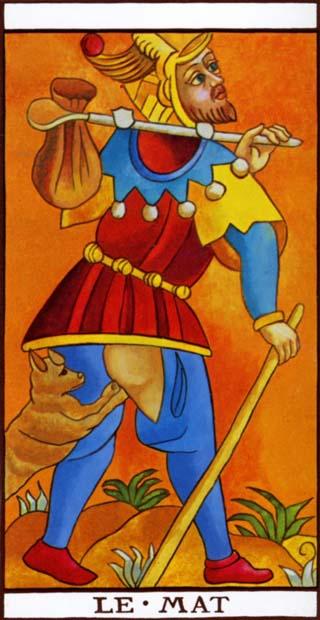 de dwaas tarotkaart