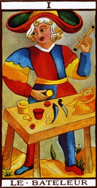 de magier tarotkaart