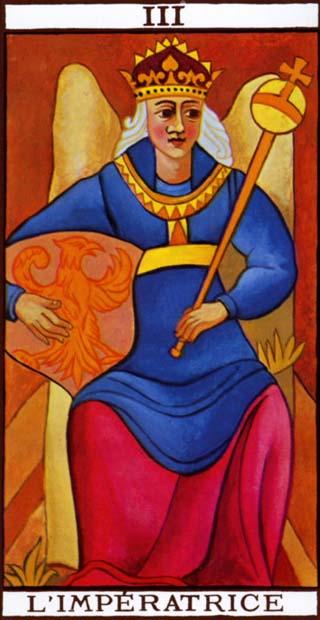 de keizerin tarotkaart