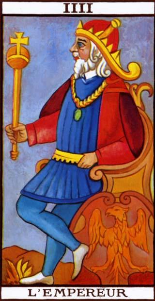 de keizer tarotkaart
