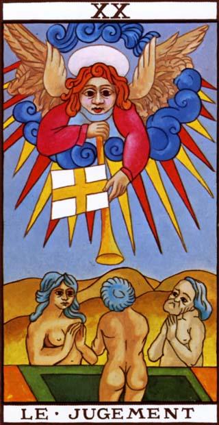 het oordeel tarotkaart